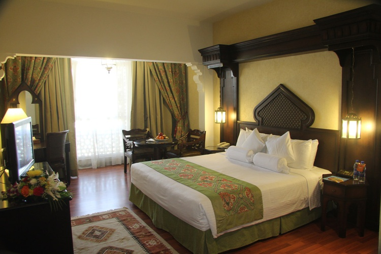 房间 阿拉伯庭院水疗酒店 酒店和水療中心 迪拜酋长国