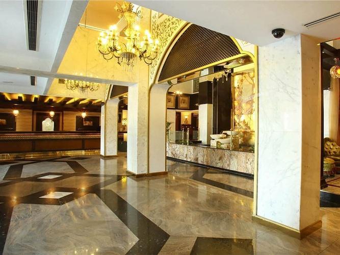 大堂 阿拉伯庭院水疗酒店 酒店和水療中心 迪拜酋长国