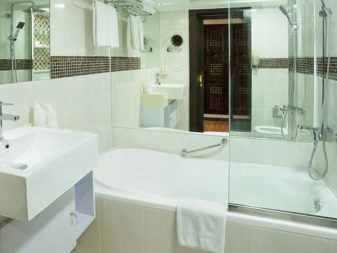 浴室 阿拉伯庭院水疗酒店 酒店和水療中心 迪拜酋长国