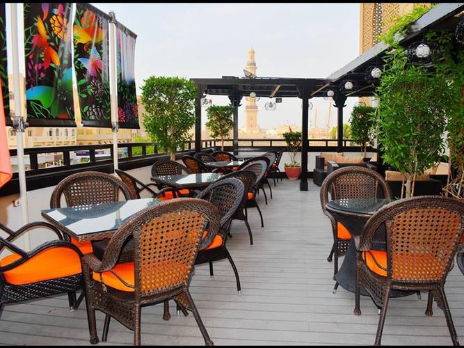餐厅 阿拉伯庭院水疗酒店 酒店和水療中心 迪拜酋长国